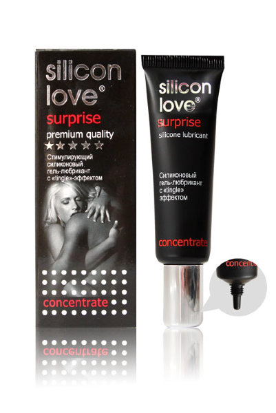 Гель-любрикант ''Silicon Love Surprise'' 30г арт.5851.