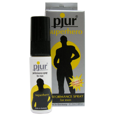 Pjur &quotsuperhero spray&quot 20ml пролонгирующий мужской спрей 10450